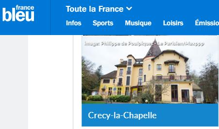 Votez pour la plus belle commune d'Ile-de-France : Crecy-la-Chapelle !