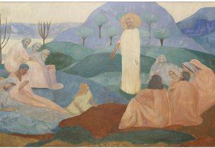 Triptyque «Le sermon sur la montagne»