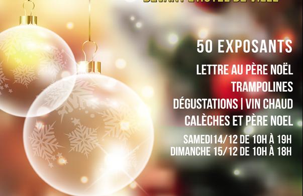 Marché de Noël 14 et 15 décembre