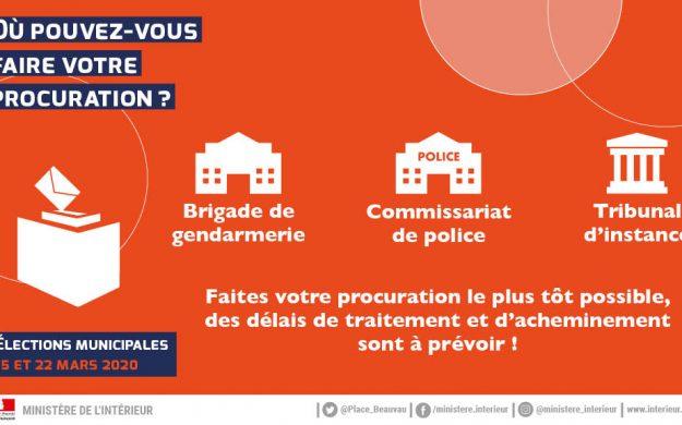 Pour voter par procuration