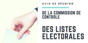 Commission de contrôle de la liste électorale