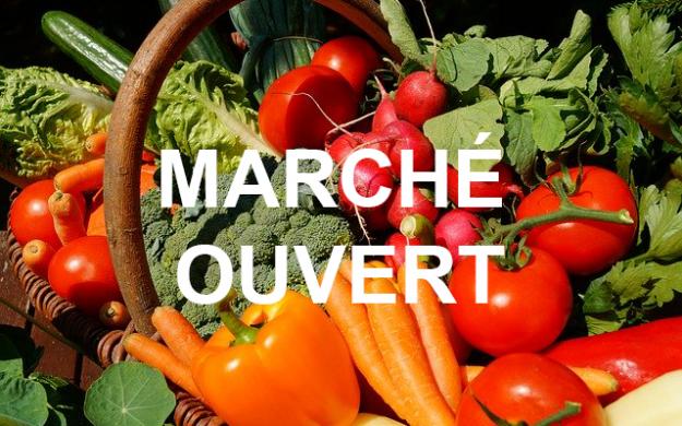 Covid-19-Marché réduit jeudi 9 et dimanche 12 avril
